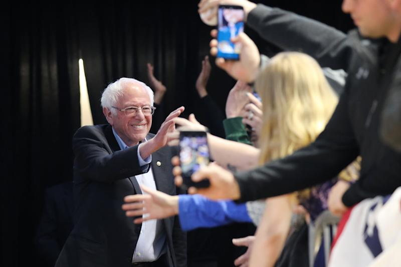 Bernie Sanders may benefit from low expectations for him in South Carolina. (Photo: Spencer Platt via Getty Images)