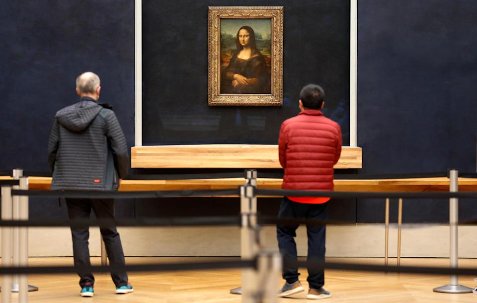 Today, The Louvre welcomed a handful of visitors – its last for the foreseeable future - Getty