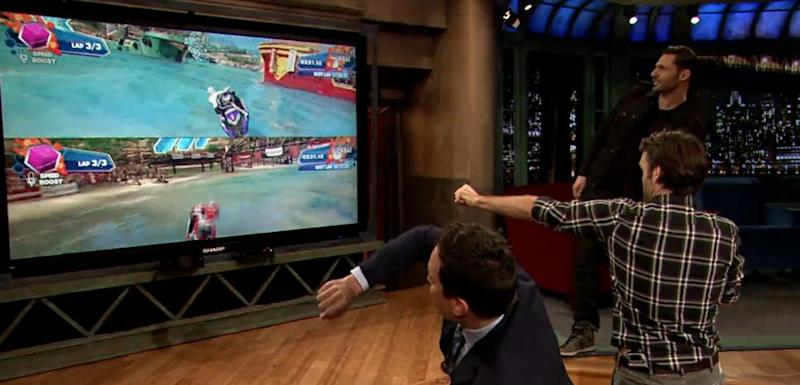 jimmy fallon xbox one kinect