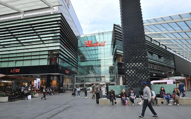 The incident happened at Westfield shopping centre in Stratford, east London (Picture: PA)