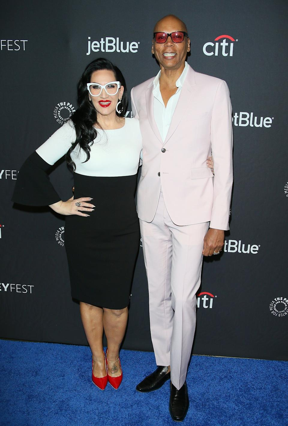 Michelle Visage and RuPaul at PaleyFest in 2019 (Photo: Jean Baptiste Lacroix via Getty Images)