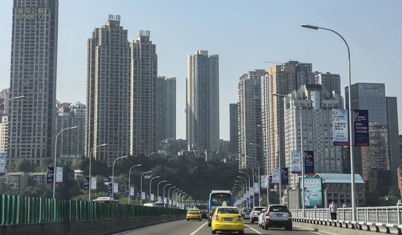 In China industrial heartland city of Chongqing, a painful economic transition is on full display