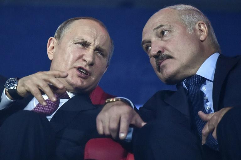 Lukashenko is seeking a counterweight in relations with giant neighbour Russia (AFP Photo/Sergei GAPON                )