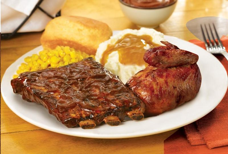 Move over chicken: Boston Market introduces ribs
