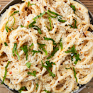 "<p>This is the perfect spring dish. It's fresh and light, and it instantly had us in love. If you can't find bucatini, use any long pasta like spaghetti or linguine! </p><p>Get the <a href=""https://www.delish.com/uk/cooking/recipes/a30698358/ricotta-pasta-recipe/"" rel=""nofollow noopener"" target=""_blank"" data-ylk=""slk:Lemon Ricotta Pasta"" class=""link rapid-noclick-resp"">Lemon Ricotta Pasta</a> recipe.</p>"