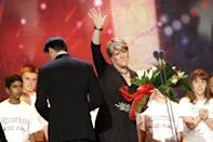 Clare Balding during the 2013 National Television Awards at the O2 Arena, London.