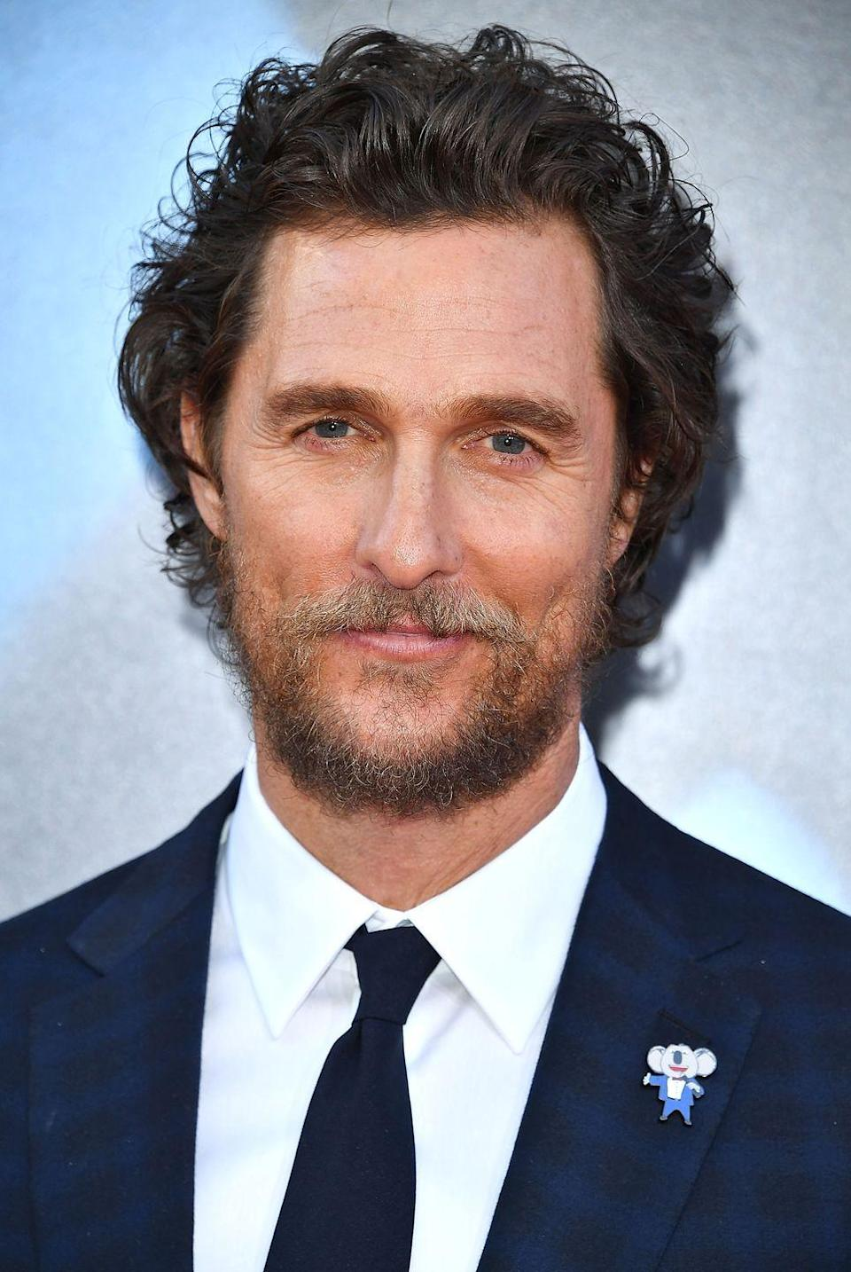 "<p>Nope, this isn't one of the celebrities on this list who advertised a lesser-known fast food chain before becoming famous. Matthew McConaughey, Academy Award winner, did a voiceover for Carl's Jr earlier this year. <a href=""https://www.adweek.com/brand-marketing/carls-jr-and-matthew-mcconaughey-skip-the-sex-appeal-and-go-straight-to-the-bacon-in-new-ads/"" rel=""nofollow noopener"" target=""_blank"" data-ylk=""slk:Ad Week"" class=""link rapid-noclick-resp""><em>Ad Week</em></a> notes that Carl's Jr is pivoting away from the over-the-top sex appeal that once defined the brand (see: earlier slides featuring Kim K., Kate Upton, etc.). </p>"