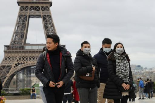 Yellow vests, strikes and now coronavirus -- Paris is experiencing a sharp drop in tourist numbers