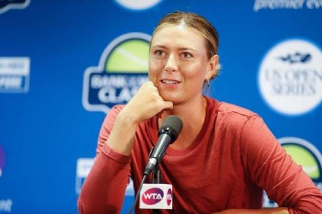 Tennis: Sharapova withdraws from Rogers Cup with arm injury