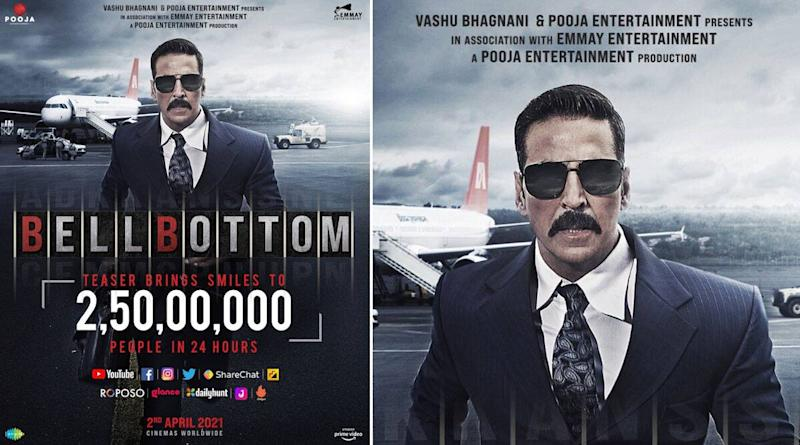 Akshay Kumar's Bell Bottom Teaser Gets 25 Million Views In 24 Hours, The Actor Is Grateful To The Audience