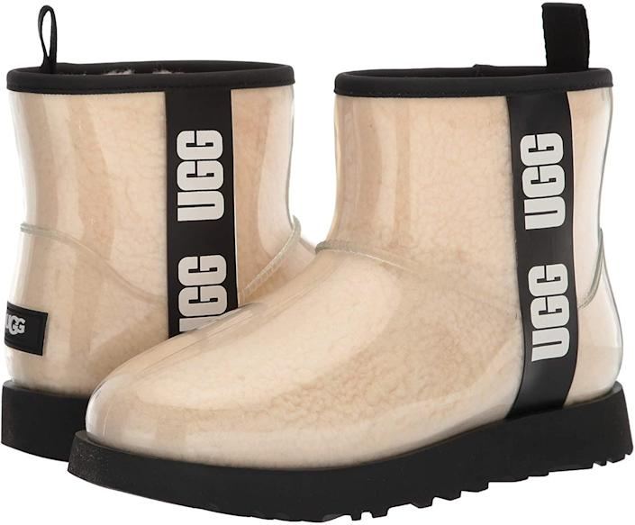 <p>You almost can't say cold weather without a pair of UGG boots. The brand knows how to make comfortable and durable shoes that you won't regret investing in. Add these laidback <span>UGG Classic Clear Mini Ankle Boots</span> ($150) next.</p>
