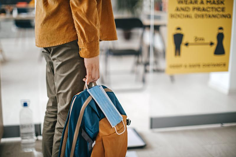 There has been an increase in the number of state schools not fully open due a coronavirus case or suspected one, government survey suggests (Getty Images)