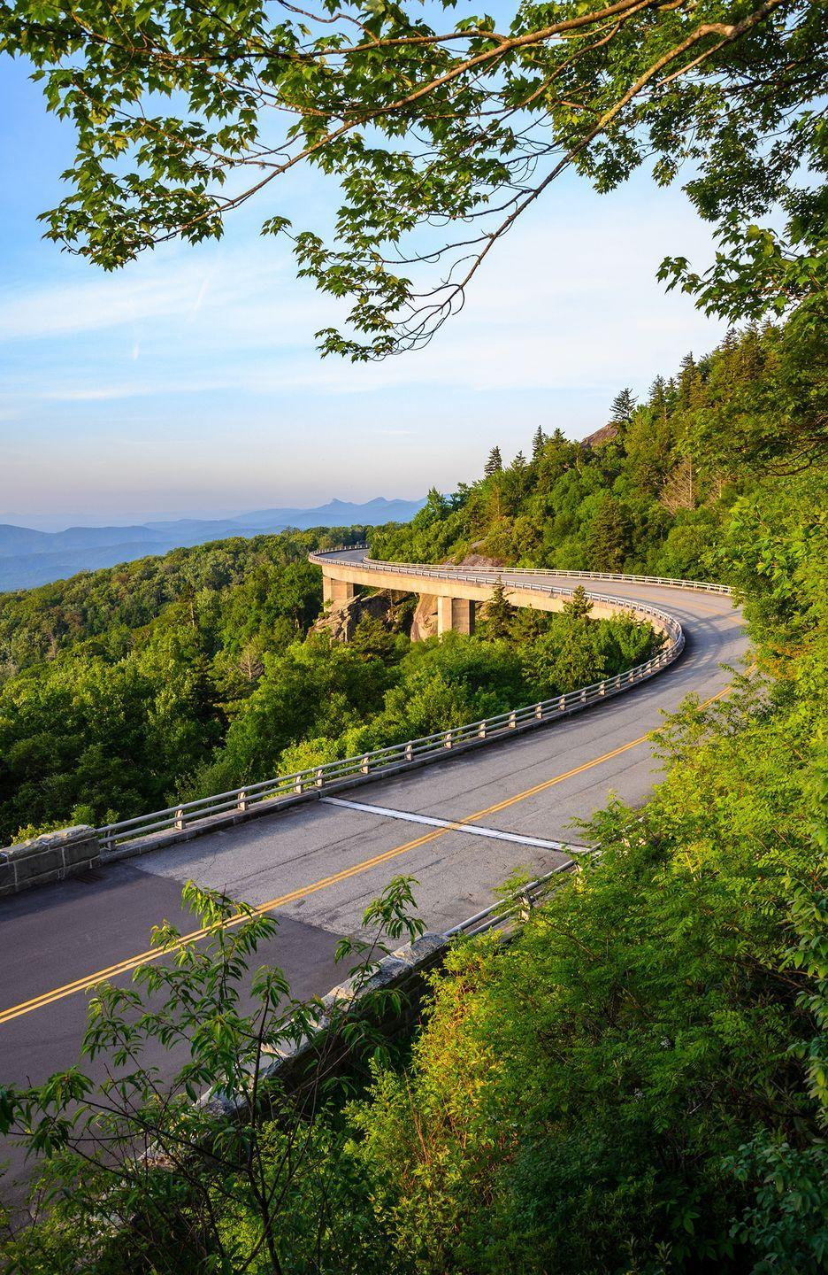"<p><strong>The Drive:</strong> <a href=""https://www.virginia.org/blueridgeparkway/"" rel=""nofollow noopener"" target=""_blank"" data-ylk=""slk:Blue Ridge Parkway"" class=""link rapid-noclick-resp"">Blue Ridge Parkway</a></p><p><strong>The Scene:</strong> The Blue Ridge Parkway begins in the northern Shenandoah Valley and travels 469 miles into North Carolina, as you head through the Appalachian Mountains for some of the best scenery in Virginia. </p><p><strong>The Pit-Stop:</strong> Plan a family vacation at the <a href=""http://www.peaksofotter.com/"" rel=""nofollow noopener"" target=""_blank"" data-ylk=""slk:Peaks of Otter"" class=""link rapid-noclick-resp"">Peaks of Otter</a>, a scenic setting that has attracted travelers since the 1800s. </p>"