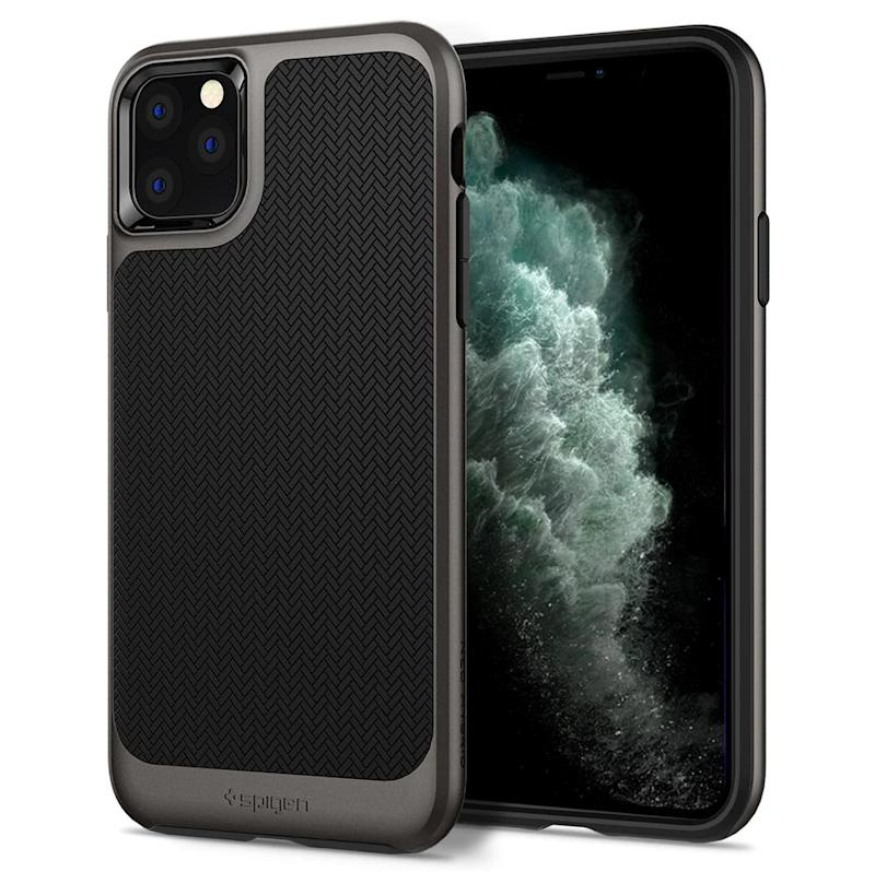 Spigen iPhone 11 Pro Max Case Neo Hybrid Gunmetal. (PHOTO: Lazada)