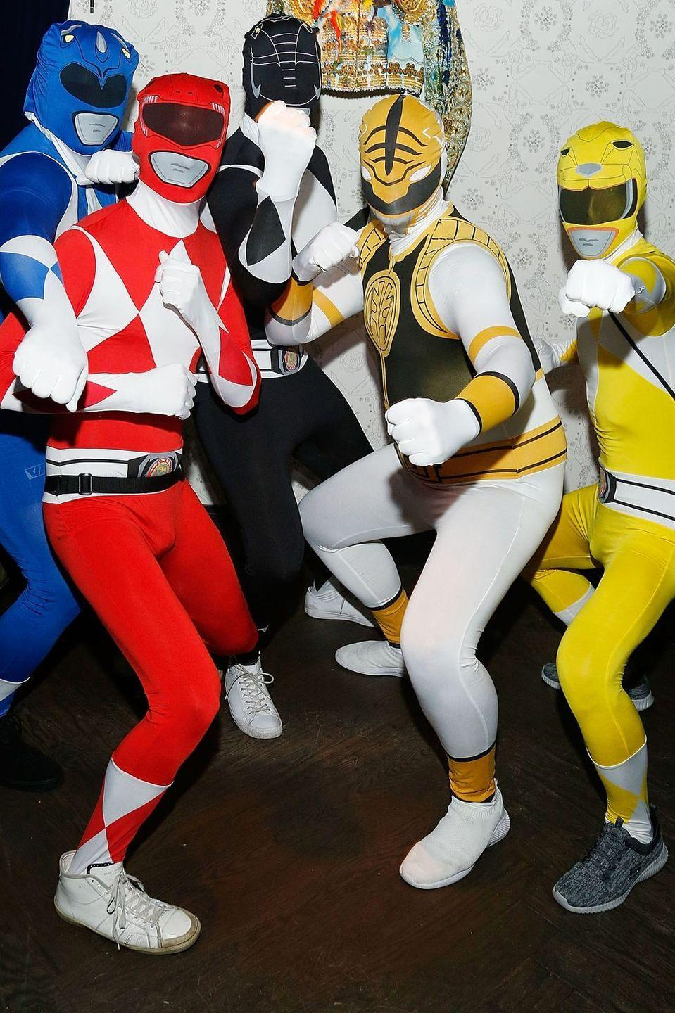 """<p>Whether you do it by yourself or with a group of friends, dressing up as a Power Ranger couldn't be easier (or more fun). </p><p><a class=""""link rapid-noclick-resp"""" href=""""https://www.amazon.com/Official-Ranger-Morphsuit-Costume-Yellow/dp/B00ITSY6W8?tag=syn-yahoo-20&ascsubtag=%5Bartid%7C10070.g.2683%5Bsrc%7Cyahoo-us"""" rel=""""nofollow noopener"""" target=""""_blank"""" data-ylk=""""slk:SHOP MORPHSUIT"""">SHOP MORPHSUIT</a></p>"""