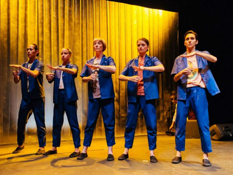 Theatre Ad Infinitum's all-female production of 'Bucket List' premiered at the Battersea Arts Centre earlier this year (Jack Offord)