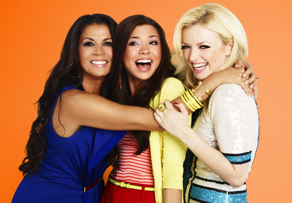 "Dina Eastwood, Morgan Eastwood, and Francesca Eastwood star in ""Mrs. Eastwood & Company."""