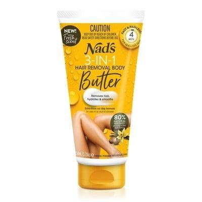 <p>The <span>Nad's 3-in-1 Butter Body Hair Removal Cream</span> ($8) works triple duty to gently break down hair while exfoliating and moisturizing the skin.</p>