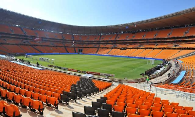 Johannesburg's FNB Stadium, venue for the first Test between the Lions and South Africa (Martin Rickett/PA Wire)