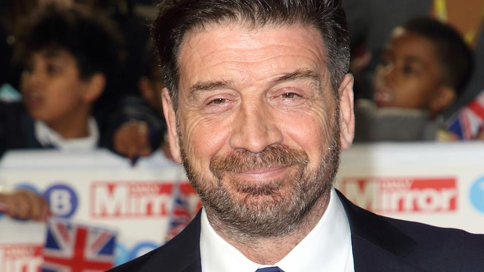 Nick Knowles said downsizing has freed him up and made him the happiest he's ever been (Image: Getty Images)