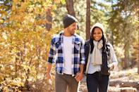 """Quarantining with a partner may have you arguing more than usual. Thankfully, <a href=""""https://psycnet.apa.org/record/2017-19038-005"""" rel=""""nofollow noopener"""" target=""""_blank"""" data-ylk=""""slk:going on a walk together"""" class=""""link rapid-noclick-resp"""">going on a walk together</a> after a big fight could help you work things out, according to a 2017 study in <em>American Psychologist.</em> For one thing, you'll each get the individual benefits of stress reduction and mood boosts. A stroll can also boost rapport because walking partners tend to move in synchrony—and moving to a new location can help change your mindset and spark resolution. Gives a new meaning to """"moving on,"""" huh?"""