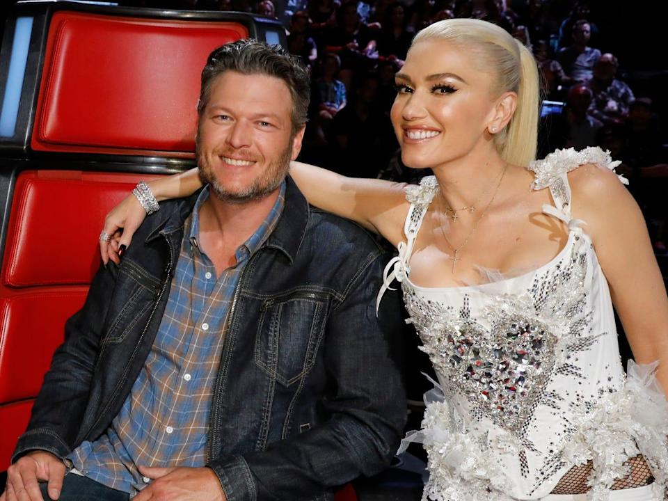 the voice judges blake gwen adam