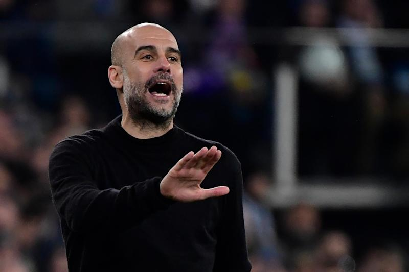 Pep Guardiola and Man City beat Real Madrid: AFP via Getty Images
