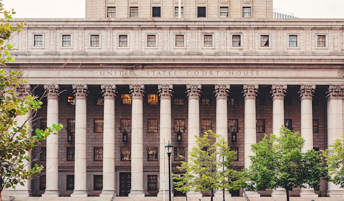 New York courthouse (Getty Images)
