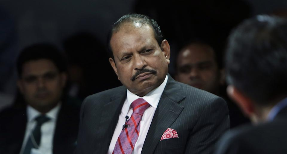 Yusuff Ali, chairman and managing director of Lulu Group International, attends the World Economic Forum (WEF) India Economic Summit in New Delhi, India, on Thursday, Oct. 6, 2016. The summit runs until October 7. Photographer: Anindito Mukherjee/Bloomberg via Getty Images