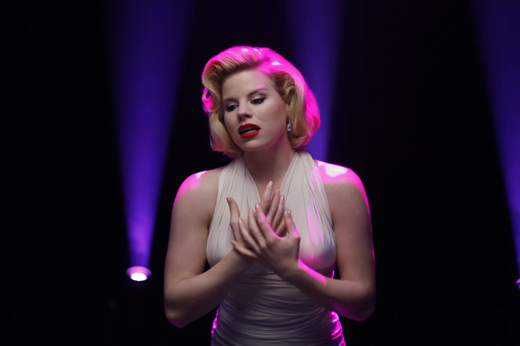 "Megan Hilty plays Ivy Lynn on ""<a href=""http://tv.yahoo.com/smash/show/47403/"">Smash</a>."" Ivy dreams of Broadway fame and hopes to land the lead in ""Bombshell"" as Marilyn Monroe."