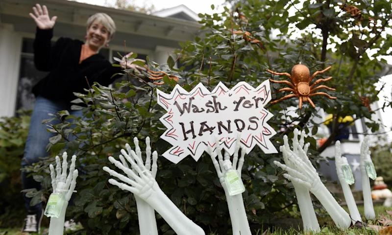'Mail-in ballot' and 'hand sanitizer': Halloween costume makers get creative