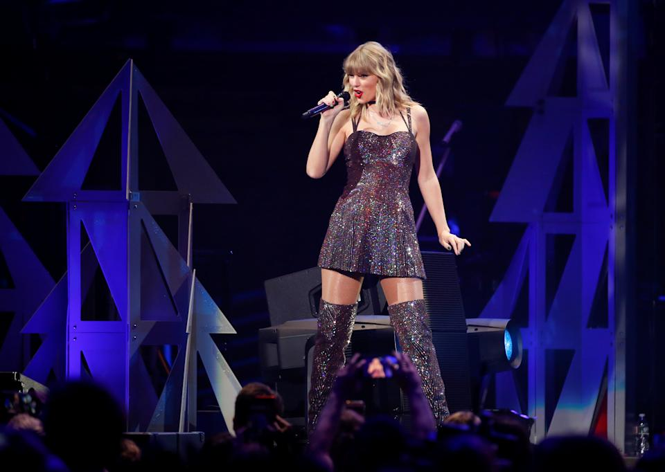 Taylor Swift is just one of the artists on UMG's roster. Photo: Caitlin Ochs/Reuters