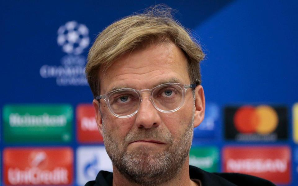 Klopp claimed the press conference was a waste of time - AP