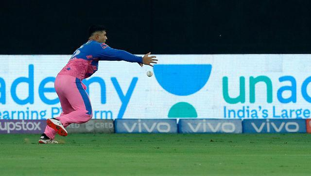 KL Rahul and Mayank Agarwal shared a 120-run stand for the first wicket. It was Rahul's lucky day as we was dropped thrice in his 49-run knock. Sportzpics