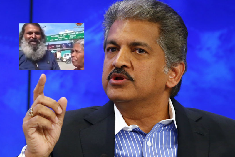 Anand Mahindra Wants to Gift a Car to Man Who Took His Mother on India Tour on Scooter
