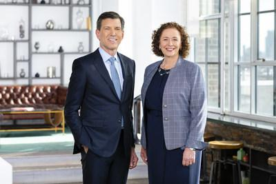 Paul Knopp, KPMG U.S. Chair and CEO-elect, and Laura Newinski, KPMG U.S. Deputy Chair-elect