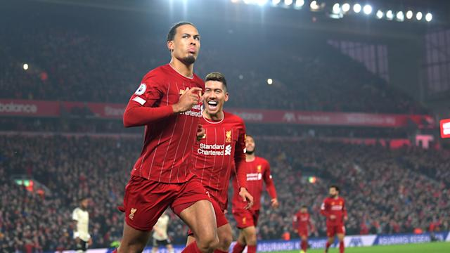Virgil van Dijk FC Liverpool Manchester United Premier League 19012020