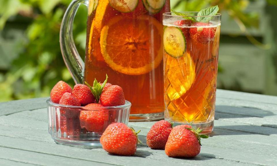 Slice of the action: Pimm's is the best known of the summer cups.