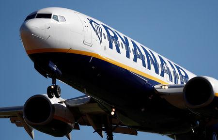 Ryanair cancels around 250 flights amid strikes