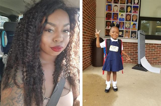 Essence and her daughter. (Photos: Facebook/Essence Evans)