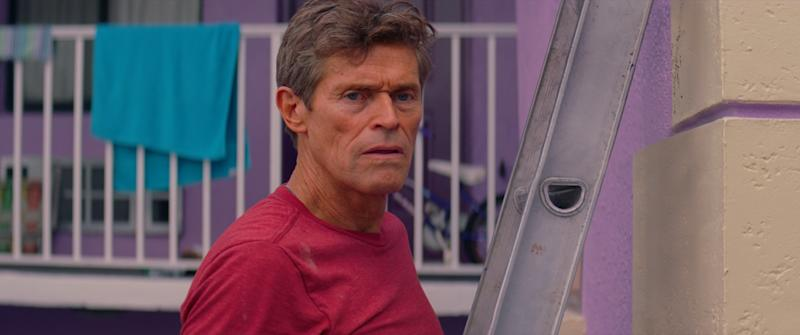 "Willem Dafoe stars in ""The Florida Project."""