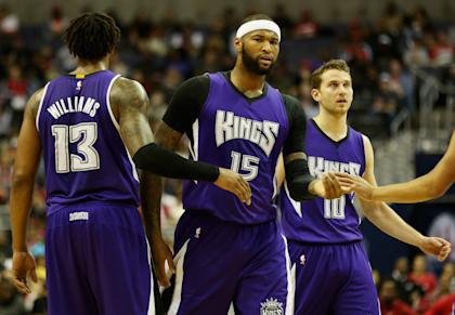 DeMarcus Cousins was an All-Star for the Kings last season. (Getty Images)