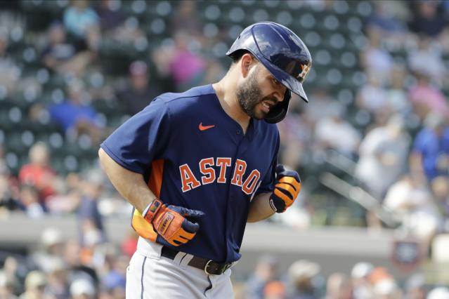 """Jose Altuve and the <a class=""""link rapid-noclick-resp"""" href=""""/mlb/teams/houston/"""" data-ylk=""""slk:Astros"""">Astros</a> should get used to this. (AP Photo/Frank Franklin II)"""
