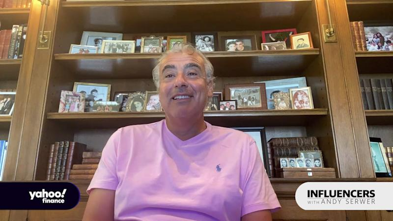 """Marc Lasry, the co-owner of the Milwaukee Bucks and co-founder of hedge fund Avenue Capital, appears on """"Influencers with Andy Serwer."""""""