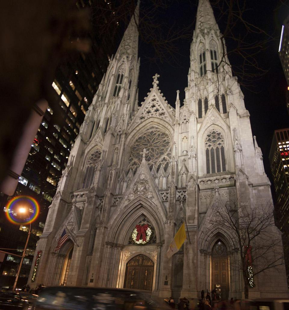 <p>St. Patrick's Cathedral is easily the city's most famous. The brick and marble Roman Catholic church, which opened in 1879, can seat 2,200 during non-COVID-19 times. </p>