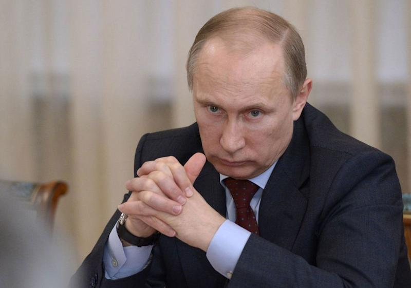 CIA found Russia president Vladamir Putin 'probably directing' campaign against Biden ( )