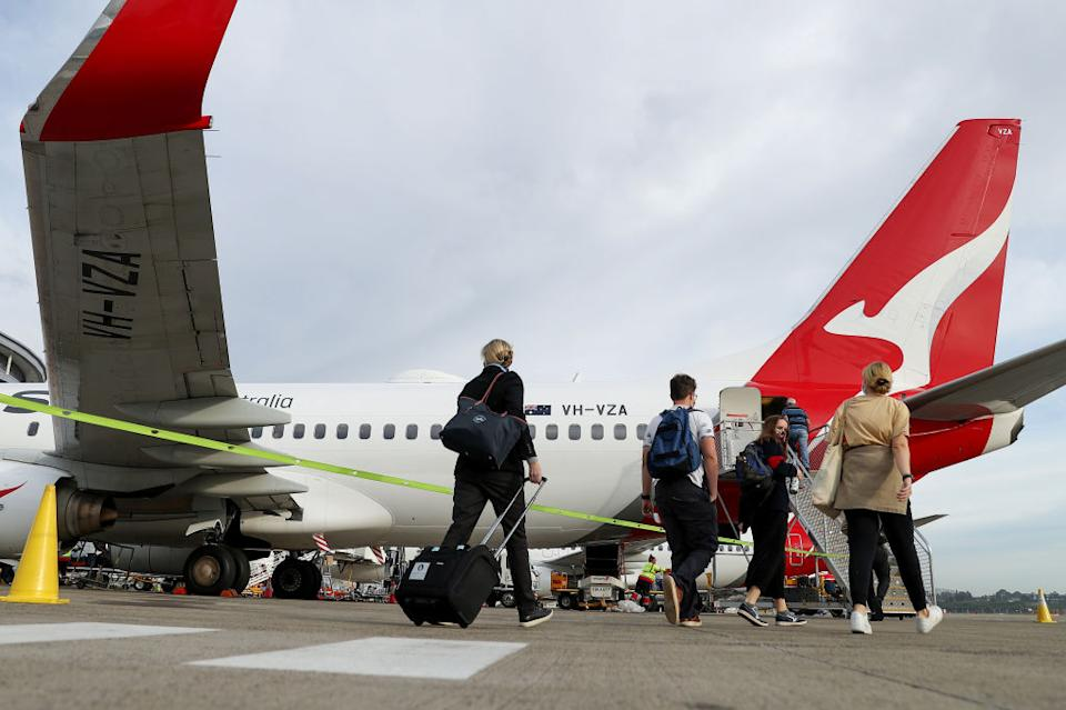 Many Australians are dreaming of international travel, which could come before the end of the year. Source: Getty