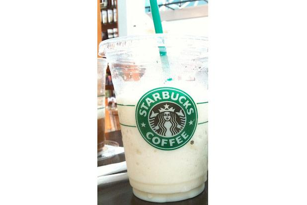 "<div class=""caption-credit""> Photo by: Credit: Flickr/animaster</div><div class=""caption-title"">Cinnamon Roll Frappuccino</div>According commenter and Starbucks barista, Jonathan, this combination of Vanilla Bean Crème Frappuccino and cinnamon dolce syrup tastes just like the popular breakfast pastry. <br>"