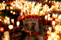 <p>Candles have been lit in memory of the victims of the devastating shooting. </p>