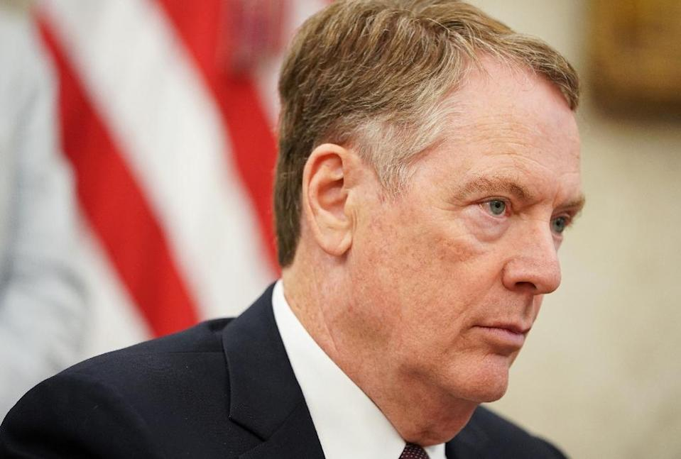 US Trade Representative Robert Lighthizer maintains a low profile but is the driving force behind US President Donald Trump's efforts to negotiate with China (AFP Photo/MANDEL NGAN)